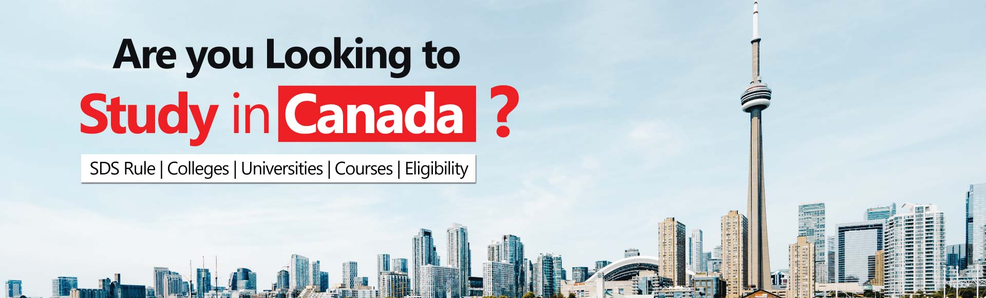 SDS Colleges in Canada - Eligibility & Process to Apply