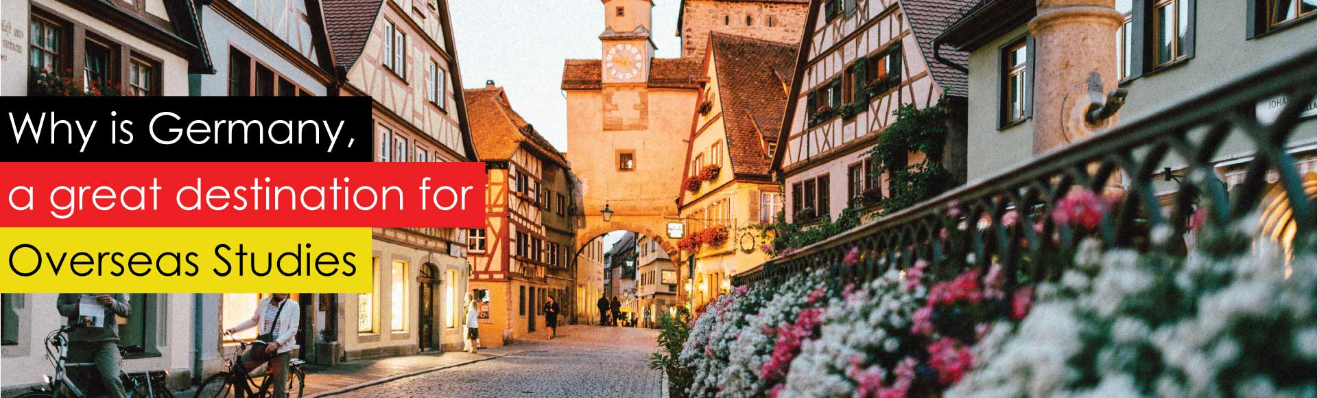 Why is Germany, a great destination for Overseas Studies