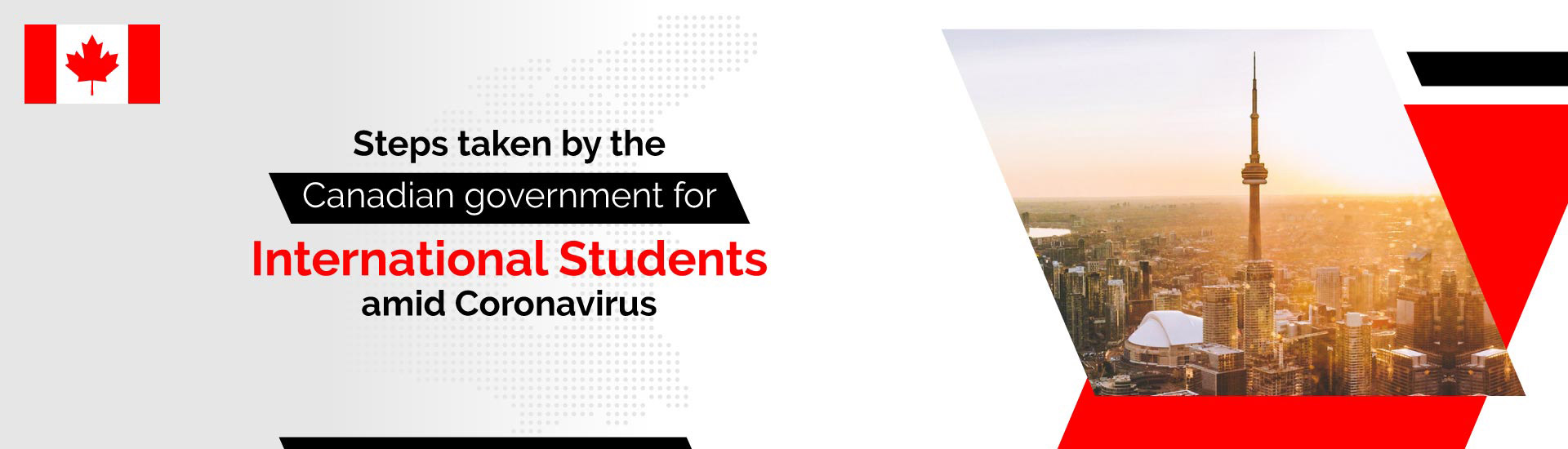 Steps taken by the Canadian government for International students amid Coronavirus