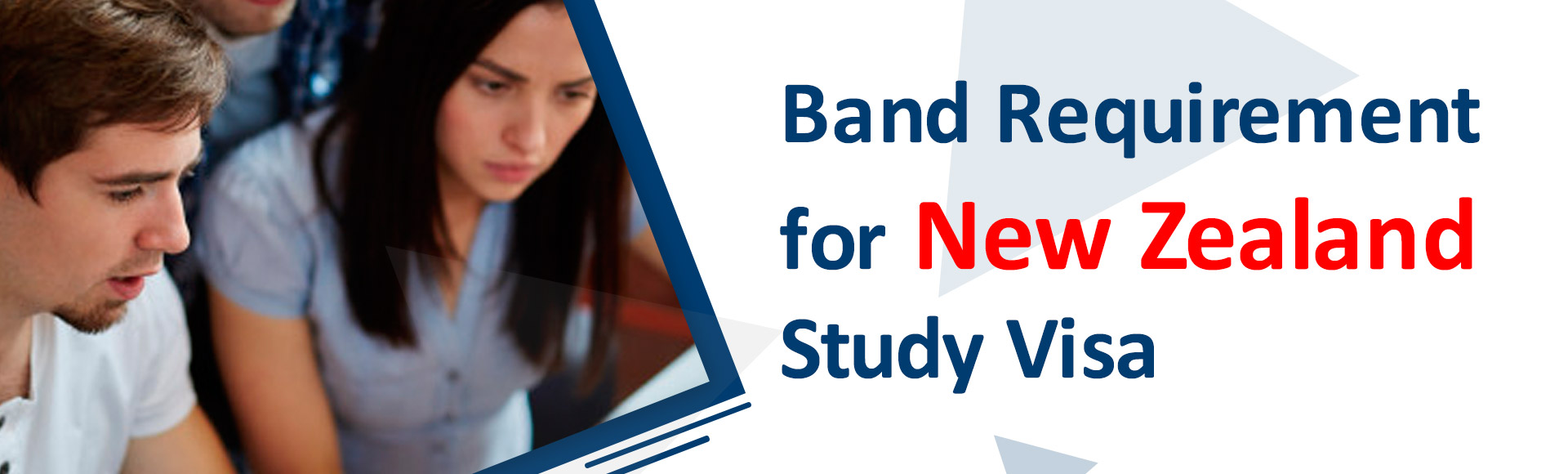Band requirement for New Zealand study visa