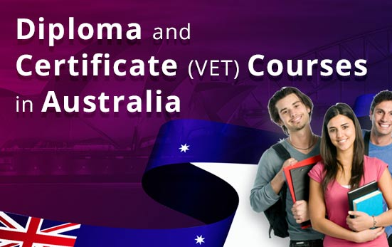 Diploma and certificate (VET) courses in Australia