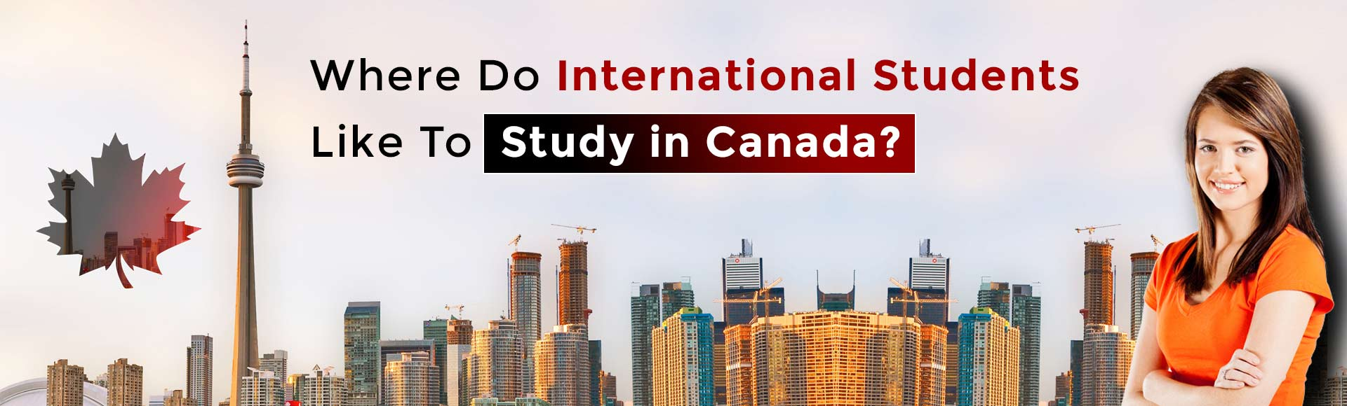 Where do international students like to study in Canada?