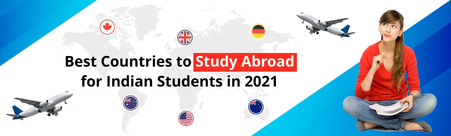 Best Countries to Study abroad for Indian students in 2021